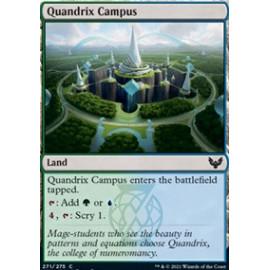 Quandrix Campus FOIL