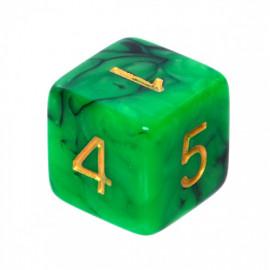 Kość Rebel K6 - zielono-czarna