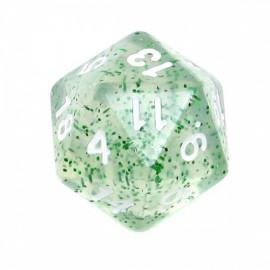 Kość Rebel K20 - brokatowa zielona