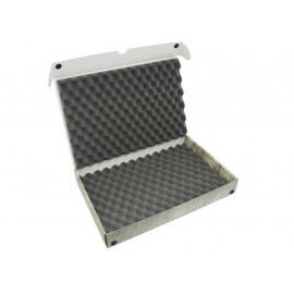 Pudełko z pianka falistą na modele na podstawkach 20/25mm
