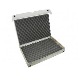 Pudełko z pianka falistą na modele na podstawkach 32mm