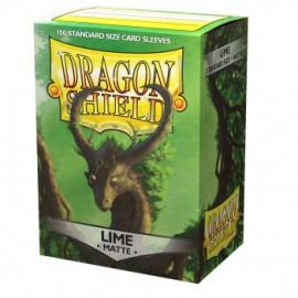 Koszulki Dragon Shield Matowe Limonkowe 100 szt.