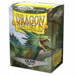 Koszulki Dragon Shield Matowe Oliwkowe 100 szt.