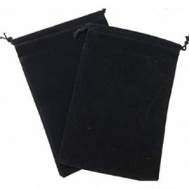 Duża sakiewka Chessex Large Suedecloth Dice Bags -  czarna