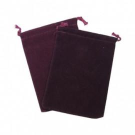 Duża sakiewka Chessex Large Suedecloth Dice Bags -  burgund