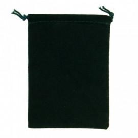 Duża sakiewka Chessex Large Suedecloth Dice Bags -  zielona