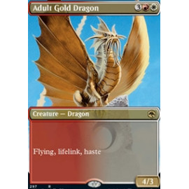 Adult Gold Dragon (Extras)