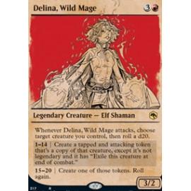 Delina, Wild Mage (Extras)