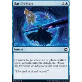 Bar the Gate FOIL