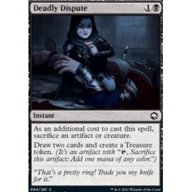 Deadly Dispute FOIL