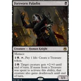 Forsworn Paladin FOIL