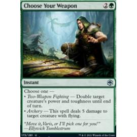 Choose Your Weapon FOIL