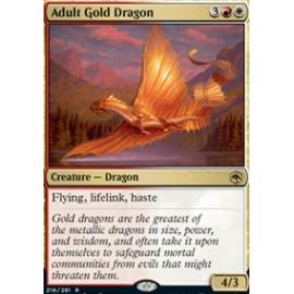 Adult Gold Dragon FOIL