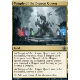 Temple of the Dragon Queen FOIL