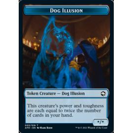 Dog Illusion X/X Token 03 - AFR
