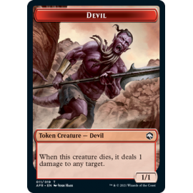 Devil 1/1 Token 11 - AFR