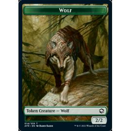 Wolf 2/2 Token 14 - AFR