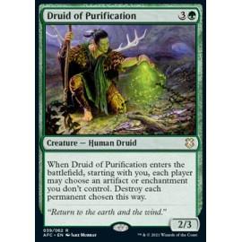 Druid of Purification (Commander: AFR)