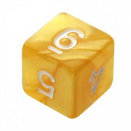 Kość Rebel K6 - perłowa żółta