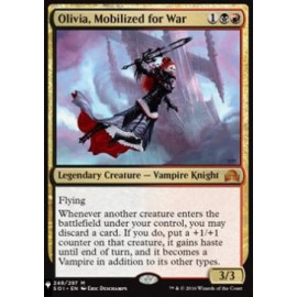 Olivia, Mobilized for War (The List)