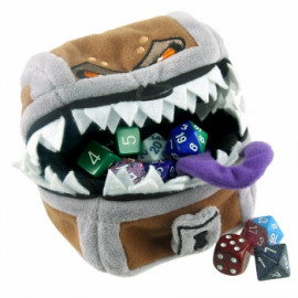 Pluszowa sakiewka na kości - Ultra Pro - Dungeons & Dragons Mimic Gamer Pouch