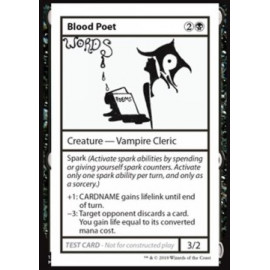 Blood Poet (Mystery Booster: Playtest Cards)