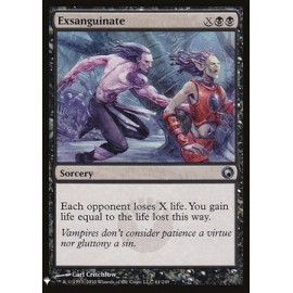 Exsanguinate (Mystery Booster)