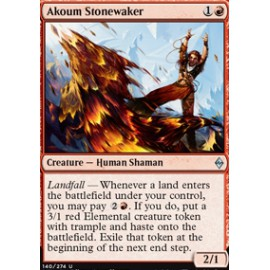Akoum Stonewaker FOIL