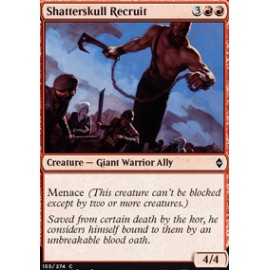 Shatterskull Recruit FOIL