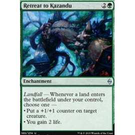 Retreat to Kazandu FOIL