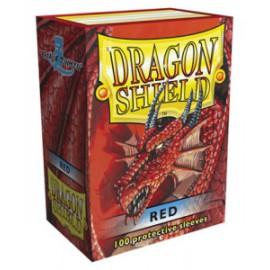 Koszulki Dragon Shield Czerwone 100 szt.