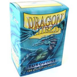 Koszulki Dragon Shield Turkusowe 100 szt.