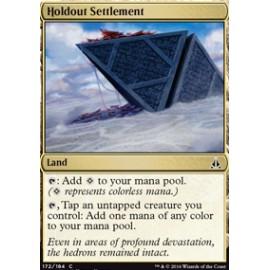 Holdout Settlement