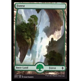 Forest Battle for Zendikar 272 FOIL