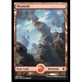 Mountain Battle for Zendikar 269 FOIL