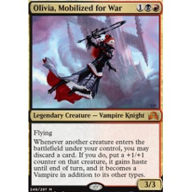 Olivia, Mobilized for War
