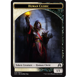 Human Cleric Token SOI