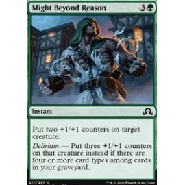 Might Beyond Reason FOIL