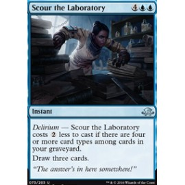 Scour the Laboratory