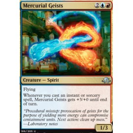 Mercurial Geists