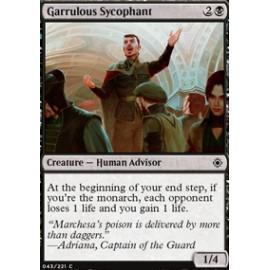 Garrulous Sycophant