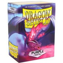 Koszulki Dragon Shield Matowe Fioletowe 100 szt.