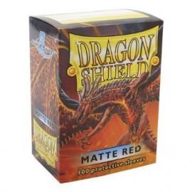 Koszulki Dragon Shield Matowe Czerwone 100 szt.