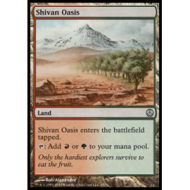 Shivan Oasis (DD: Phyrexia vs. The Coalition)