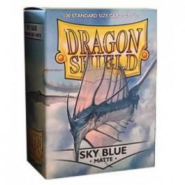 Koszulki Dragon Shield Matowe Niebieskie Niebo 100 szt.