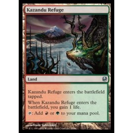 Kazandu Refuge (DD: Ajani vs. Nicol Bolas)