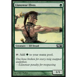 Llanowar Elves (Magic 2012)