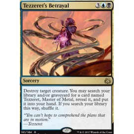 Tezzeret's Betrayal