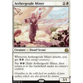 Aethergeode Miner FOIL