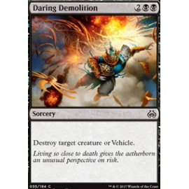 Daring Demolition FOIL
